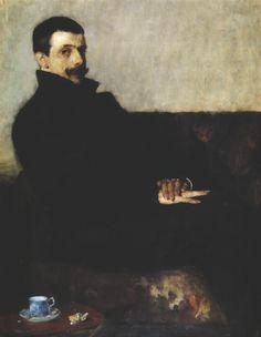 portret malarza - Olga Boznańska