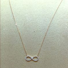 14kt rose gold diamond pendent 14 kt gold with .15 diamonds Jewelry