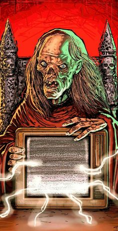 Horror Show, Horror Films, Vintage Movies, Vintage Posters, Moving Pictures, Cool Pictures, Ec Comics, Albin Michel, Tales From The Crypt