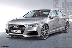 Audi A4 (2016) (render)