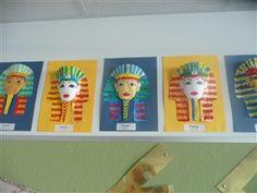 Egypt imprimir mascaras k las peguen en hojas dando volumen