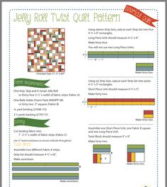Patch Quilt, Strip Quilts, Easy Quilts, Quilting Tips, Quilting Tutorials, Quilting Projects, Quilting Designs, Jelly Roll Quilt Patterns, Quilt Block Patterns