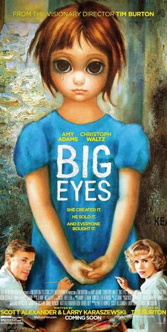 Making Of: Tim Burton desvela la verdad de Margaret Keane y sus niños de 'Big eyes' (Tráiler)