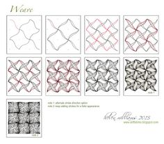 Weave Tangle Pattern