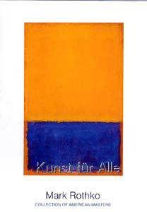 Mark Rothko - Untitled (Yellow, Blue on Orange)