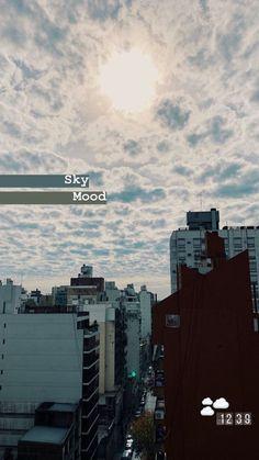 Sky mood - instastory - I n s t a g r a m - Creative Instagram Stories, Instagram And Snapchat, Instagram Story Template, Instagram Story Ideas, Instagram Posts, Snapchat Posts, Instagram Music, Instagram Travel, Diy Foto