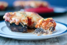 Cheesy and delicious, these lasagna stuffed portobellos are keto and low carb friendly!