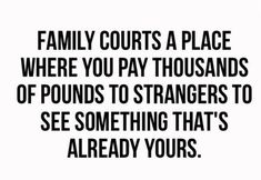"""Removing the winner-gets-the-kids concept would also remove the incentive for parents to focus on each other's faults, and to """"dig up dirt"""" on each other. It may not be reasonable to expect divorcees to co-parent blissfully, without conflict, but getting off to a less acrimonious start, one that enc Family Court, Child Custody, Co Parenting, Got Off, Denial, Divorce, Effort, No Response, Encouragement"""