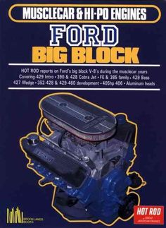 Nice Ford 2017: Musclecar And Hi-po Engines Ford Big Block (Paperback)   Overstock.com Shopping - The Best Deals on Automotive  Products Check more at http://carsboard.pro/2017/2017/03/08/ford-2017-musclecar-and-hi-po-engines-ford-big-block-paperback-overstock-com-shopping-the-best-deals-on-automotive-products/
