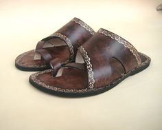 Handmade Leather Sandals  Victory by Calpas on Etsy, $70.00