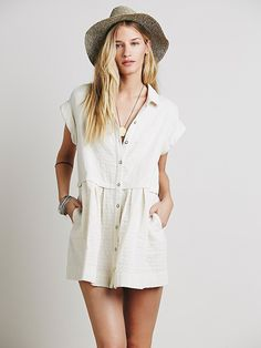 Free People New Moon Babydoll Dress at Free People Clothing Boutique /// $128.00