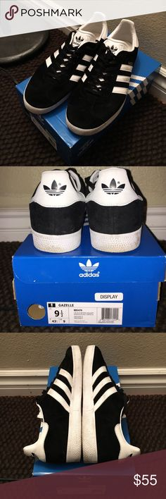 Adidas original sneakers Gazelle Adidas original sneakers Gazelle. Excellent condition. No damage, just dirty. Hardly used. Bought brand new insoles for shoes so they're very comfortable now. Does come with extra pair of white laces from the Adidas store. Adidas Shoes Sneakers