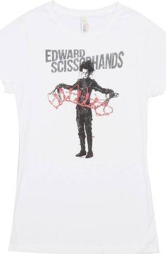 Ladies Edward Scissorhands Shirt
