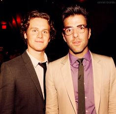 fave couple   Zachary Quinto + Jonathan Groff