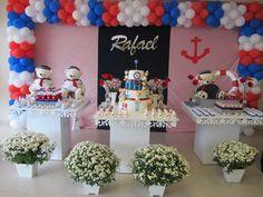 Decoração festa ursinho marinheiro Fonte: Google