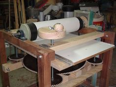 Drum sander working Homemade (part 2 - conclusion) - YouTube