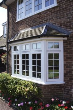 Case study for Bury St Edmonds Timber Flush Casement Windows from Timber Windows, high quality, engineered timber doors and windows. Window Grill Design, Bay Window Exterior, Windows, Windows Exterior, Casement Windows, French Doors Exterior, Exterior Design, Window Trim Exterior, Window Remodel