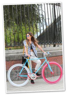 La bicicleta está de moda
