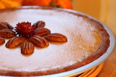 Pumpkin Pie with Pecan and Cashew Crust — SIBO Diet recipes