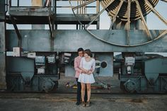 Unexpected Locations can sometimes be perfect for a portrait session // Belovely You