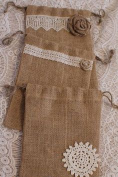 Shop for on Etsy, the place to express your creativity through the buying and selling of handmade and vintage goods. Burlap Bags, Jute Bags, Hessian Crafts, Sewing Crafts, Sewing Projects, Burlap Projects, Potli Bags, Lavender Bags, Fabric Gift Bags