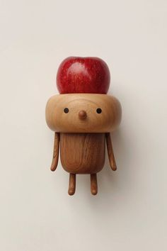 toys on Pinterest | Wooden Toys, Wooden Animals and Modern Dollhouse | Taiwanese wood-making artist Yan Ruilin (Yen Jui Lin)