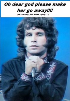 Dig those sideburns, Jim! #patriciakennealy #jimmorrison