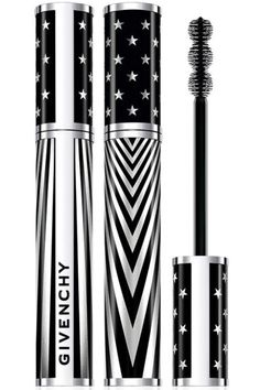 12 chicest 4th of July essentials: Star-Spangled Stare; Givenchy Noir Couture 4-in-1 Mascara for bold fabulous lashes.