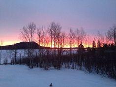 Sunrise on Kineo, in Rockwood, Maine, Photo credit Alan Cartwright