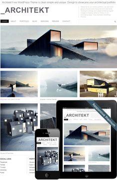 architekt-wordpress-theme   Free WordPress Theme