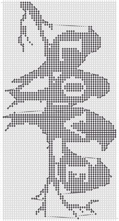 Alpha Pattern added by CagedBird Cross Stitch Heart, Cross Stitch Borders, Cross Stitch Designs, Cross Stitching, Cross Stitch Embroidery, Cross Stitch Patterns, Crochet Patterns, Filet Crochet Charts, Knitting Charts