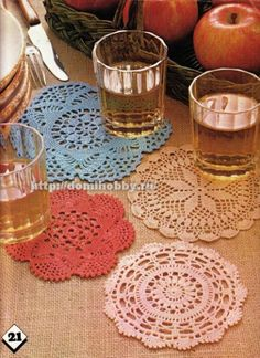 Magic Crochet nº 19 - leila tkd - Picasa Web Albums Crochet Diy, Filet Crochet, Crochet Diagram, Crochet Chart, Crochet Home, Thread Crochet, Crochet Potholders, Crochet Doily Patterns, Crochet Tablecloth
