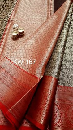 Kora kanchi weaving saree. With jumka WOVEN all over. Price : 2350 Order what's app 7995716811