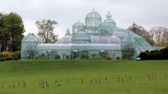 The Royal Greenhouses, Brussels.