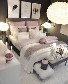 37 jawdroppingly cheap bedroom ideas for small rooms . - 37 jawdroppingly cheap bedroom ideas for small rooms …, - Small Bedroom Interior, Pink Bedroom Decor, Bedroom Setup, Bedroom Decor For Teen Girls, Girl Bedroom Designs, Modern Bedroom Design, Small Room Bedroom, Room Ideas Bedroom, Small Rooms