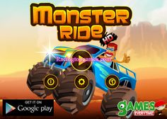 Welcome to Monster Ride Truck Racing Game. This is a Truck Racing Game and have lot of fun. In this Racing Game you can ride a monster hummer with brilliant graphics and unlock new monster cars. Best of luck for Monster Ride Truck Racing Game!!