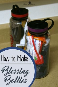 How to make Blessing Bottles for the Homeless #ad #LIGHTtheWORLD