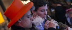 Customers puff on e-cigarettes at the Henley Vaporium in New York City December 18, 2013. REUTERS/Mike Segar          teenage smoking myths busted