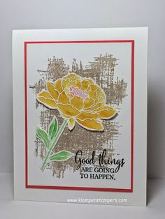 Stampin' Up! You've Got This--with NEW In-Colors!