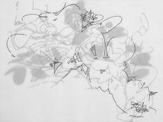 Elena Nieves, Sin título, 2007, tinta sobre papel, 30 x 40 cm.