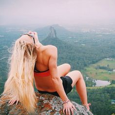 pushing yourself to the top of the mountain bliss Beach Volleyball, Mountain Biking, Train Insane Or Remain The Same, Weight Loss Results, Go Hiking, Physical Fitness, Nike Dri Fit, Fitspiration, Fitness Inspiration