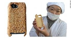 survival iPhone Case made in Japan is a new product in USA. CNN.co.jp : 日本の「食べられるiPhoneケース」、米国でも発売