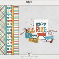 Playful mini kit FB freebie from Wishing Well Creations  (FREE as of 5.3.2014)