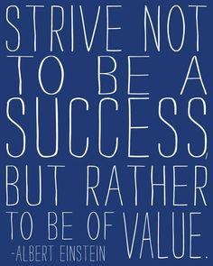 Words of wisdom from Albert Einstein