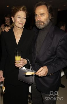 Vanessa Redgrave and Franco Nero Vanessa Redgrave, Celebrity Couples, Famous People, Celebs, Women, Celebrities, Celebrity, Woman