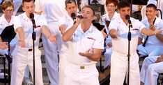 These 5 Navy sailors entertain this crowd with their songs that are so good, you might think you're hearing Frankie Vallie. 50s Music, Country Music Lyrics, Navy Sailor, Songs To Sing, Me Me Me Song, Music Videos, Singing, Entertaining, Dance