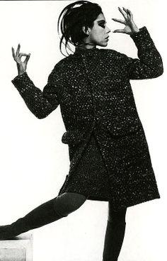 1960's fashion - peggy moffitt wearing rudy gernreich 1965