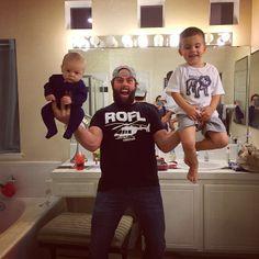 #shaytards #liftingbabies
