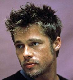 Brad Pitt Fight Club Haircut - Best Brad Pitt Haircuts: How To Style Brad Pitt's Hairstyles, Haircut Styles, and Beard #menshairstyles #menshair #menshaircuts #menshaircutideas #menshairstyletrends #mensfashion #mensstyle #fade #undercut #bradpitt #celebrity #bradpitthair Brad Pitt Haarschnitt, Young Brad Pitt, Brad Pitt Photos, Junger Brad Pitt, Cabelo Do Brad Pitt, Brad Pitt Haircut, Brad Pitt Hairstyles, 90s Hairstyles, Celebrity Hairstyles