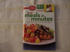 Betty Crocker Best Meals in Minutes 72 Recipe Cards Grocery Store Cookbook | eBay